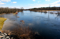 Saranac River flood