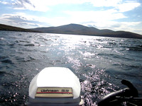Motoring on Chazy Lake
